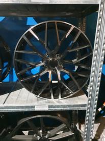 "Alloy wheels 19"" fits audi seat skoda vw"