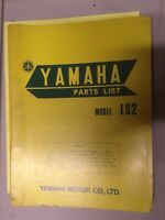 1972 Yamaha LS2 Parts List