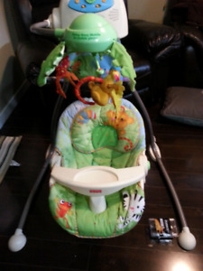 Musical Mobile Baby Swing - Excellent Condition -
