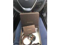 Men's designer Gucci belt