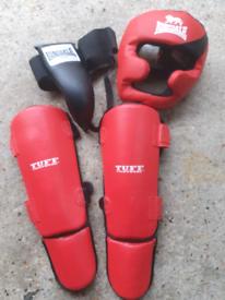 Kick boxing protection gear