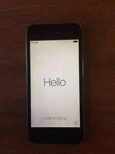 iPhone 5s - 16GB - Space Grey - iCloud Unlocked - As New Hamilton South Newcastle Area Preview