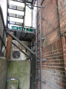 Fire Escapes, Staircase, cage, gates, railing Welder/Welding