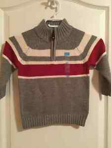 New with tags sweaters size 4T( $25) will sell for $16. Windsor Region Ontario image 3