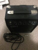Guitar and amp great condition