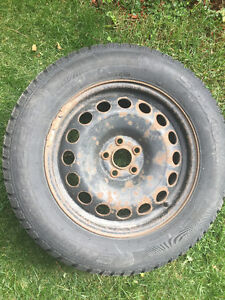 4 Winter Tires and Rims - 225 60 R16 St. John's Newfoundland image 1