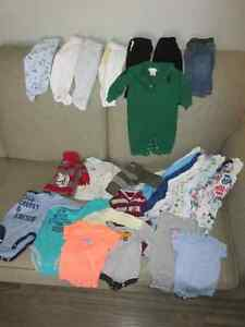 0-3 Month Boys Clothes Lot