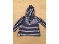 Ralph Lauren striped hoodie age 18 months
