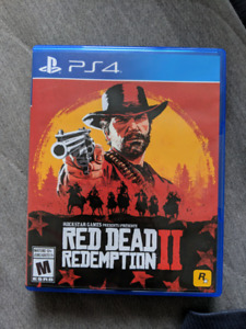 PS4 - Red Dead Redemption 2 sealed with receipt
