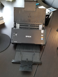 Epson DS-510 document scanner (double sided, auto OCR+PDF)
