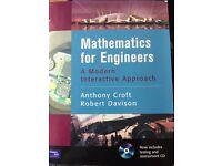 Mathematics for Engineers, Croft and Davison