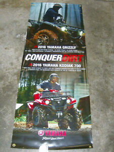 YAMAHA 2016 GRIZZLY/KODIAK 700 PROMOTIONAL BANNER