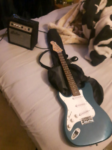 Guitar and amp need gone