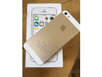 Gold iPhone 5s - 16GB - 02/Giff Gaff