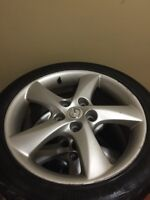 17 inch Mazda 6 rims and tires