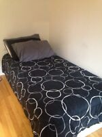 Single mattress and bed frame