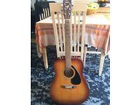 """Acoustic guitar """"Yamaha"""" F310TBS"""