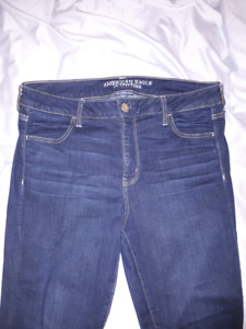 Size 16 Regular-American Eagle Jeans. Super Super Stretch