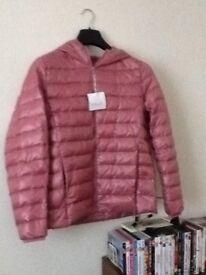 Ladies down filled jacket