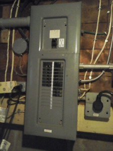 200 amp electrical Panel plus Breakers $200
