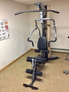 """Home Gym with Leg Attachment - """"M1 Inspire"""" brand"""