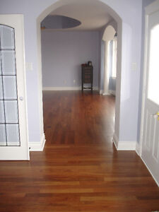Brazillian Cherry Jatoba hardwood flooring sale $6.25, select