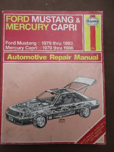 Mustang & Capri Repair Manual