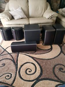 5.1 Polk audio speakers