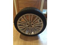 VW R32 Mark 4 Wheel & Tyre