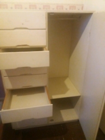 Solid save children wardrobe