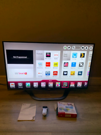 LG 42 inch Smart 3D Tv Freeview Full HD LED 1080p With Remote Stand An