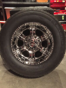 8 bolt GMC rims and Michelin Tires