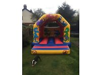Big Bounce N Bubbles. Bouncy castle hire
