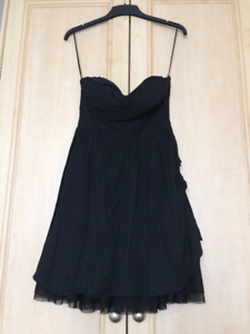 Dress by Asos UK Size Small Black