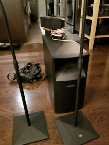 Bose Acoustimass 5.1 complete home theater speaker system