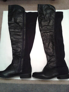 Ladies tall fashion boots - with a wide calf