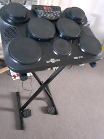 DD70 electric portable drum pad set