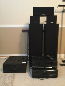 Fisher Stereo Surround Sound System