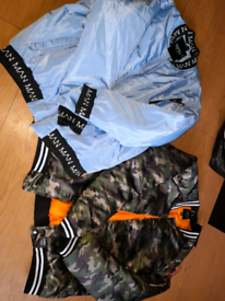 2 brand new mens boohoo jackets size 2XL