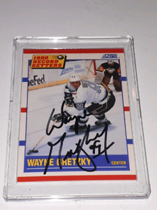 Autographed NHL Hockey cards