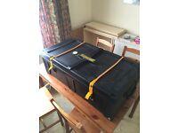 Hardcase hardware box w/wheels