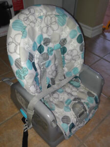 Booster seat style high chair