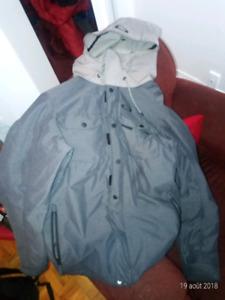 Manteau d'hiver oakley pour homme large