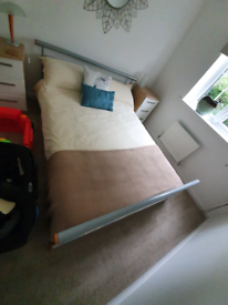 Excellent condition double bed and matress