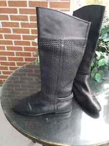 G H BASS @ Co. BLack leather RIDING BOOT