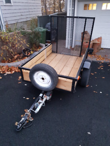 Utility Trailer with Ramp (4ft x 6ft)