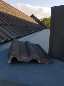 Marley Cloak-Verge Tile - Antique Brown
