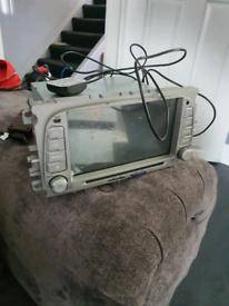 Ford stereo sat nav DVD dc