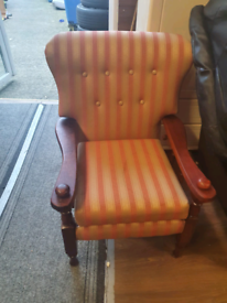 44. Just recovered armchair