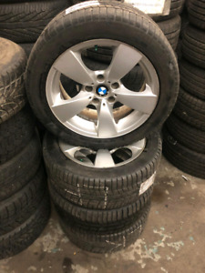 BMW 5 series winter tires and rims